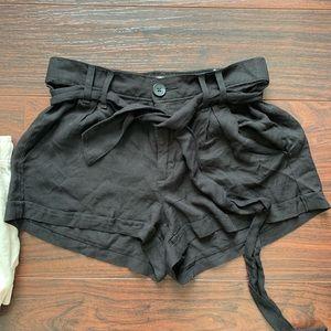NWOT black shorts